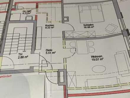 2-Zimmer-Dachgeschosswohnung in Pfronten