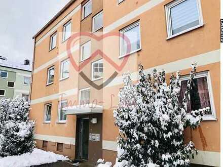 Renovierungsbedürftige 4 ZKB in Haunstetten! 75qm, Balkon, EBK!