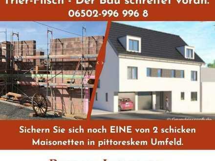 TR-Filsch: der Bau schreitet voran.