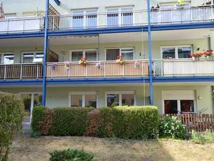 Ideal geschnittene 2-Raum-Wohnung mit EBK, Terrasse und Option auf TG-Stellplatz!