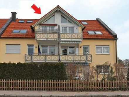 2-Zimmer-Dachgeschoss-Wohnung in Landsberg-West