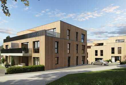 moderne 2-Zimmer-Wohnung mit 59,96 qm in NurHolz-Bauweise