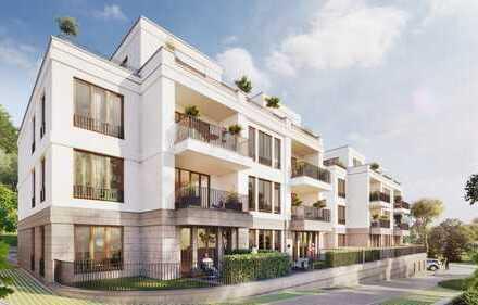3-Zimmer-Wohnung mit Masterbad und Ankleidezimmer sowie zwei Balkonen in Westausrichtung!