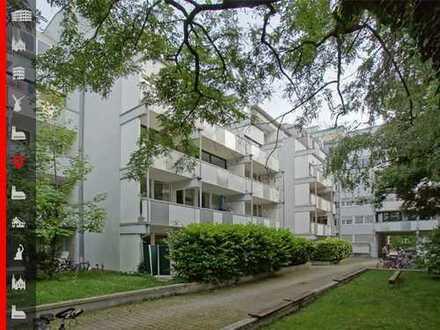 Bezugsfrei ab spätestens April 2020! Ruhige 2-Zimmer-Wohnung mit großem Balkon am Auer Mühlbach