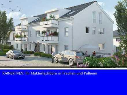 Frechen: Zentrumsnahes Bauvorhaben mit 6 modernen Komfortwohnungen