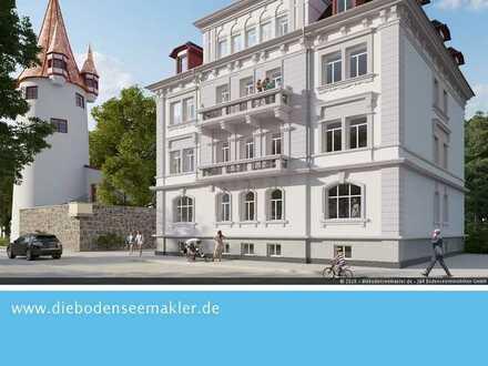 SONDERABSCHREIBUNG - 7 Wohnungen im Stadtpalais am historische Diebsturm auf der Lindauer Insel