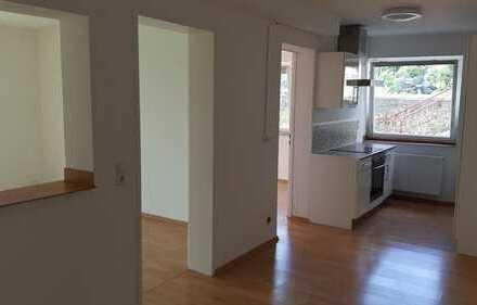 Ansprechende 3-Zimmer-Erdgeschosswohnung mit Balkon und Einbauküche in Horb am Neckar