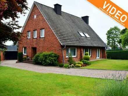 Nicht groß, sondern großzügig! Einfamilienhaus mit schönem Grundstück mitten in Mettingen