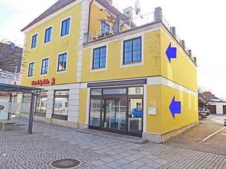 Zentral gelegen - Schöne Büroräume auf 2 Ebenen im Zentrum von Türkheim von Toni te Best Immobilien