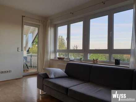 Ruhige, helle Galerie/Maisonette Wohnung mit schöner Aussicht