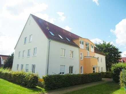 Schöne 2-Zimmer-Wohnung mit Balkon und Pkw-Außenstellplatz in Gransee