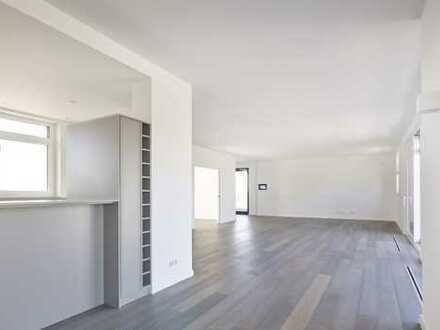 Außergewöhnliche 5-Raum-Wohnung im Loft-Stil mit großer Dachterrasse