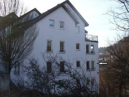 Gepflegte 2,5-Zimmer-EG-Wohnung mit Balkon in Horb - Mühringen