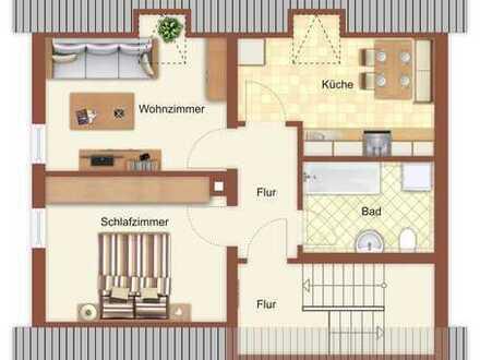 Neu renovierte 2-Zimmer-Dachgeschoss-Wohnung Nähe Waldkirchen
