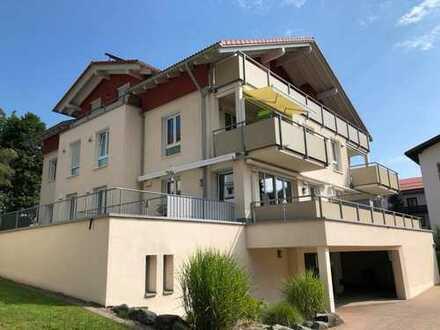 Alles außer gewöhnlich - Exklusiv ausgestattete barrierefreie 3 - Zi. - Wohnung in Oberstaufen