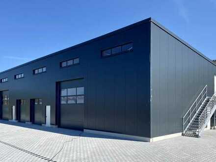 Neubau Lager & Produktions Halle, Erbach, Gewerbepark Gräsig
