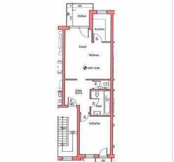 Neubau/Erstbezug! 2-Zi.-Wohnung in Rodgau-Dudenhofen