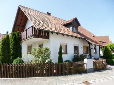 Schwaig bei Münchsmünster 4 Zi. Dachgeschoßwohnung mit 2 Balkone