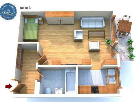 Lage, Lage, Obergiesing - Attraktive, vermietete 1-Zimmer-Wohnung mit West-Loggia