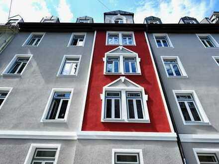 Sanierter Altbau in München-Haidhausen. Wunderschöne, ruhige 4-Zimmer-Wohnung in der Lothringer Str.