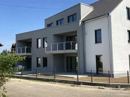 Neubau 3-Zimmer-Wohnung in Burgau