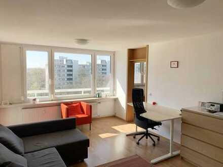 Gepflegte, helle 2 Zimmerwohnung mit sonnigem Balkon in ruhiger Lage