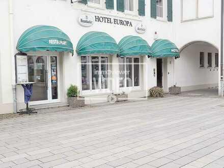 Renommiertes Hotel mit Restaurant in bester Rüsselsheimer Innenstadtlage
