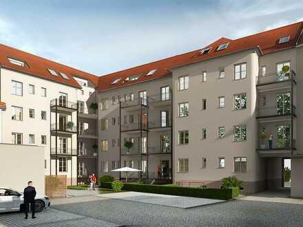 Zwiebelhaus Borna | 2- Zimmer Eigentumswohnung | Denkmalschutzobjekt im Leipziger Neuseenland