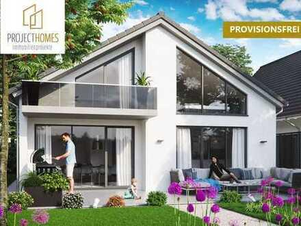 Saniertes und modern renoviertes Einfamilienhaus mit großen Fensterfronten und traumhafter Terrasse