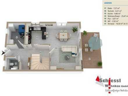 Erstbezug: modernes Reihenhaus mit vier Zimmern in Burglengenfeld