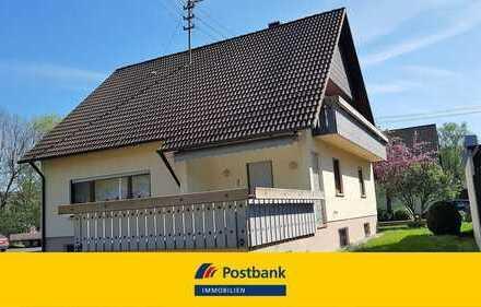Tolles Einfamilienhaus mit Garagen und großem Grundstück in Unterbalbach