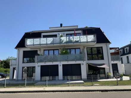 Schicke Neubau 3 ZKB mit Balkon