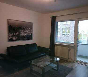 Sanierte, vollmöblierte 2-Zimmer-Designwohnung in Alt-Mülheim, direkt am Wiener Platz