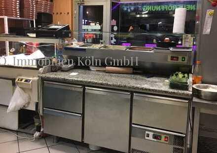 Pizza-Lieferservicelokal in Ehrenfeld - voll inventarisiert in guter Geschäftslage