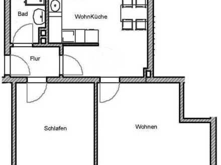 Freundliche, barrierearme 2,5-Zimmer-Wohnung mit Dachterrasse in Bottrop-City