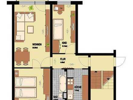 3-Raum-Wohnung - Erstbezug nach Sanierung