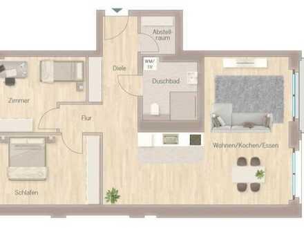 RESERVIERT | Perfekt geschnittene, barrierefreie 3-Zimmer-Wohnung in City-Lage