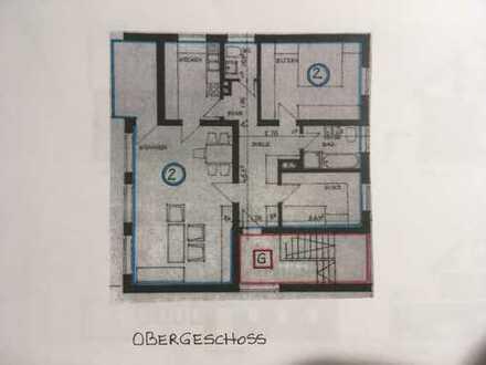 Erstbezug nach Sanierung mit Balkon: attraktive 4-Zimmer-Wohnung in Delligsen