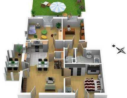 Familie gesucht für bezugsfreie 4-Zimmer-Wohnung im Rieselfeld