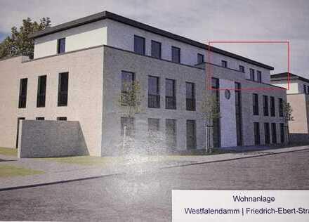 Erstbezug: Barrierefreie Staffelgeschosswohnung mit 35m² Süd-Dachterrasse