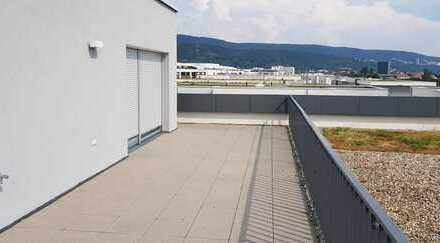 Penthouse Wohnung mit 3-Zimmer mit großzügigen Dachterrasse in der Bahnstadt-HD