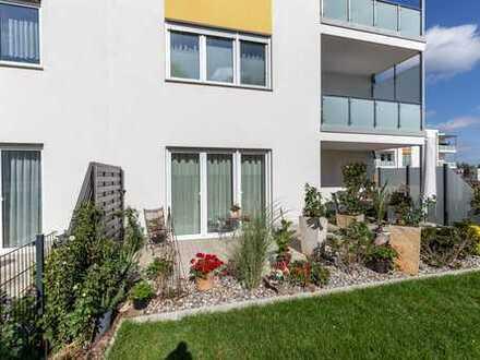 Ebenerdige Wohnung mit Garten und Gartenhaus - Neuwertig