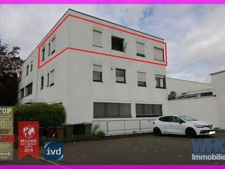 Für Selbstständige: Wohnen und Arbeiten in der 2,5-Zimmer-Wohnung mit Balkon und Pkw-Stellplatz