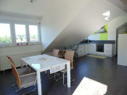 Ansprechende 3-Zimmer-DG-Wohnung in Karlsruhe-Palmbach