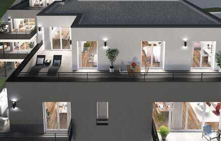 Penthouse-Feeling mit schöner Dachterrasse