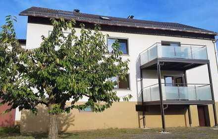 3 Zi EG Whg, Einbauküche, Balkon, neues Bad, Badewanne, Dusche, Gäste WC, 97797 Windheim