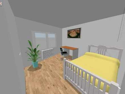 WG Zimmer (2 Räume mit Verbindungstür) in kernsaniertem 3er WG Haus / Internet, TV, Waschmaschine, B