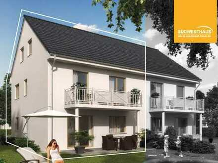 Traumhafte Doppelhaushälfte mit 147m² mit sonnenverwöhntem Garten