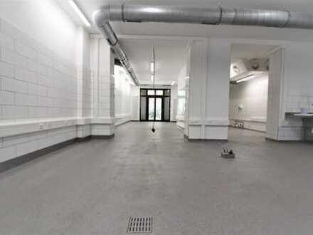 Prenzlauer Berg: Lychener Str.: Produktionsküche/ Gastrofläche, ca. 161 m² per SOFORT zur ÜBERNAHME