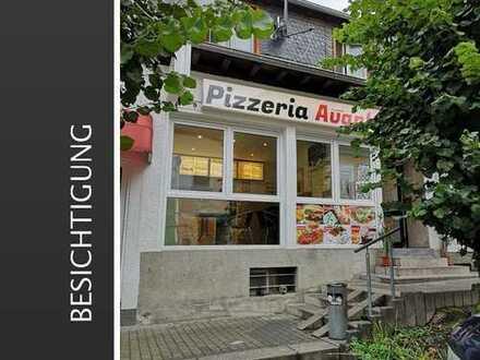 Top Rendite ! Pizzaservice + Appartment in zentraler Lage !!